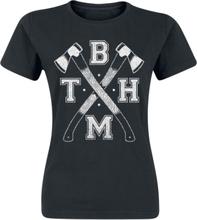 Bring Me The Horizon - Axe -T-skjorte - svart