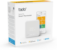 tado Tado Smart Thermostat starter Kit V3+. 1 stk. på lager