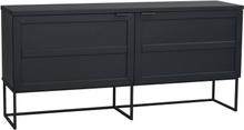 Everett sideboard Svart 160 x 41 cm