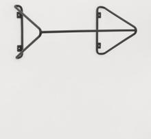H & M - Kleshenger i metall - Sort