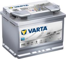 Batteri D52 Silver Dynamic AGM - 60Ah