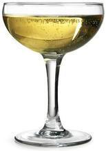 Champagneglas Coupe Elegance svängare 16 cl