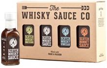 Whiskysåser 4-pack Whisky Sauce Co