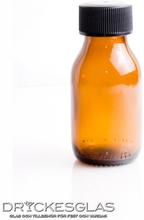 Sample Bottle 6 cl med kork