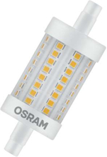 Osram Superstar Line LED 8W/827 (75W) R7s 78 mm dimbar