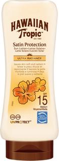 Hawaiian Tropic Satin Protection Lotion SPF 15, 180 ml Hawaiian Tropic Solskydd & Solkräm