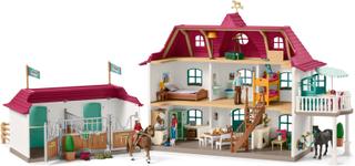 Hästgård med hus och stall (Schleich)