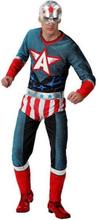 Kostume til voksne Tegneserie helt XXL