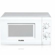 Mikrobølgeovnen Flama 1817FL 20 L 700W Hvid