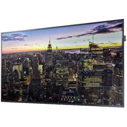 "Samsung QM49H 124,5 cm (49"") LED 4K Ultra HD Digital signage flat panel Sort Wi-Fi"