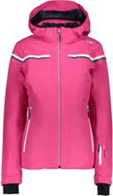 CMP Woman Jacket Zip Hood (38W0726) Dame skijakker fôrede Rosa D44