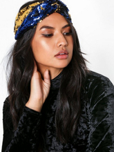 NLY Accessories Sequin Headband Blå/Gull