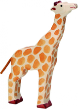 Giraff - huvud upp (Holztiger)