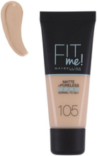 Maybelline New York Fit Me Matte & Poreless Foundation 30 ml Natural Ivory