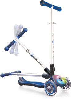 Globber Elite Sparkcykel med ljus (blå)