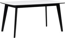 Olivia matbord Vit/svart 150 x 90 cm