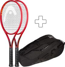 Head 2x Prestige Graphene 360+ Tour Tennisschläger (plus Tennistasche) Griffstärke 1