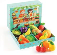 Frukter och grönsaker med Louis och Clementine