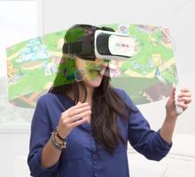 VIZIOVR 710 Virtuell virkelighetsbriller med fjernkontroll