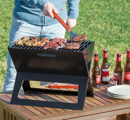 Sammenleggbar BBQ grill