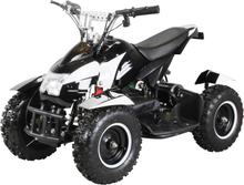 Mini ATV Cobra 800w elektrisk sort-hvit