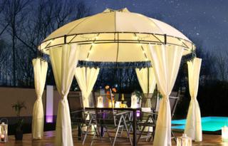 LED Solar - Luxus Paviljong - LAVO - 350cm - fargevalg
