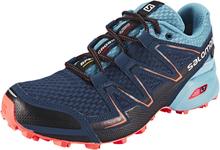 Salomon Speedcross Vario GTX Juoksukengät Naiset, slateblue/blue gum/coral punch EU 36 2016 Talvijuoksukengät