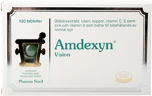 Amdexyn 120 tablettia