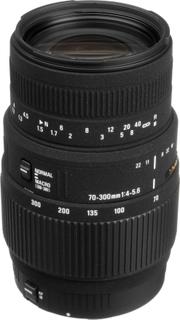 Objektiv til Nikon 70-300mm 1:4-5.6 DG MACRO Sigma DG Sort