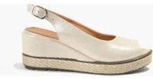 Sandały złote Anita