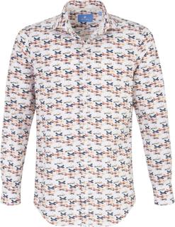 Skjorta Modern Fit från Pierre Cardin mångfärgad
