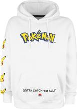 Pokémon - Pikachu -Hettegenser - hvit