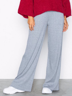 NLY Trend Wide Rib Pants Bukser
