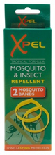 Xpel Mosquito & Insect Tropical Formula Repellent Bands 2 stk