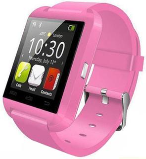Smartklocka / smartwatch u8 - android & ios - rosa