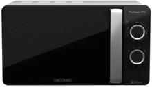 Mikrobølgeovnen med Grill Cecotec ProClean 3150 20 L 700W Sort Sølvfarvet