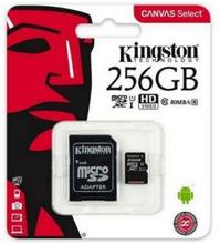 Mikro-SD-hukommelseskort med adapter Kingston SDCS2 100 MB/s 512 GB