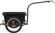 Cykelanhænger med plastkasse 50 liter eller 150 kg