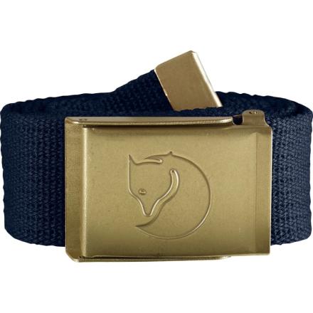 Fjällräven Canvas Brass Belt 4 cm Bälte Blå OneSize