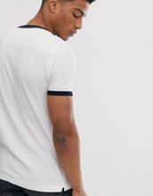 French Connection ringer t-shirt-White