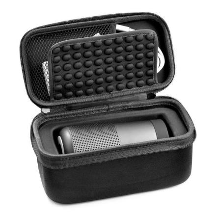 VODOOL EVA Speakers Waterproof Hard Protective Cover Case Pouch Bag Carrying Cover Organizer for Bose Soundlink Revolve Speaker