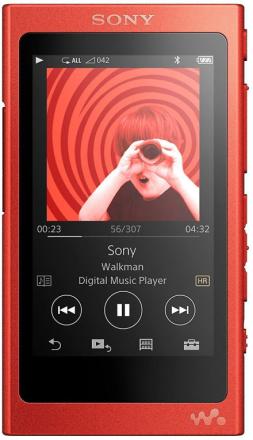 Sony NW-A35 høyoppløselig lyd gå (3,1 tommers Touch skjerm, 16 GB M...