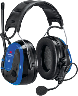 3M Peltor WS Alert XPI Hörselskydd med Bluetooth och mobilapplikation, hjässbygel