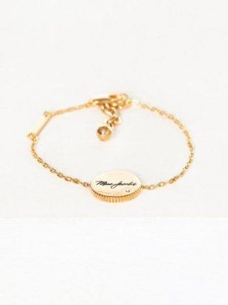 Armbånd - Gull Marc Jacobs Chain Bracelet