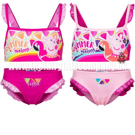Gurli Gris bikini, fuchsia/sølv - TheFairytaleCompany