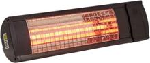 Heat1 terrassevarmer - Vægmodel 212-315 - Sort