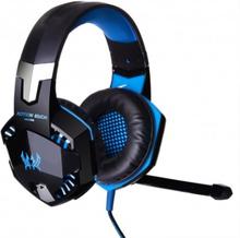 Kotion EACH G2000 Gaming Headset med volymkontroll & LED - Blå