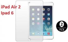2-Pack Skärmskydd till iPad Air 2 / Ipad 6