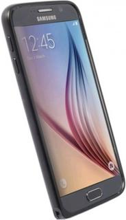Krusell Sala Samsung Galaxy S6 Aluminium Bumper - Svart - Krusell