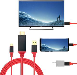 Type c till hdmi video-audio adapter (hdtv)